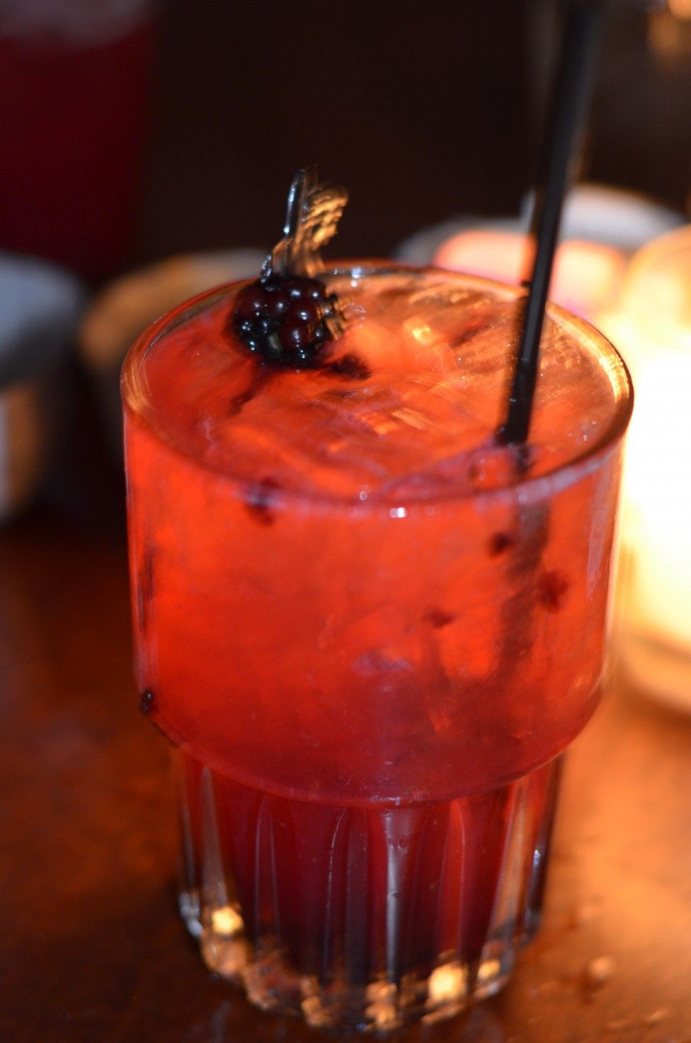 My friend ordered the No. 11 - gin, blackberry and lemon. It looked very refreshing. Isn't that fresh blackberry beautiful?